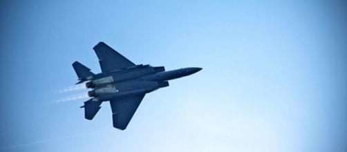 Avión F-15 del ejército americano