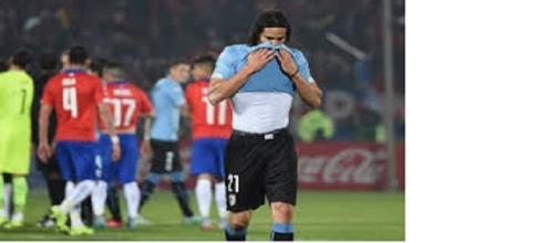 Cavani cerca il riscatto contro il Cile