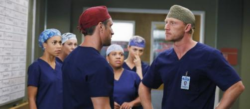 Grey's Anatomy 12x7 Something Against You