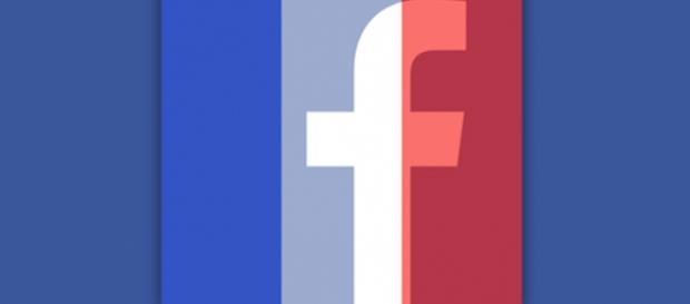 Ecco la foto profilo con la bandiera francese