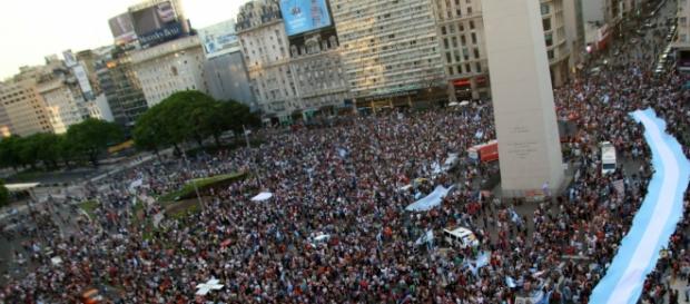 El sí a Scioli de familias argentinas, no a Macri