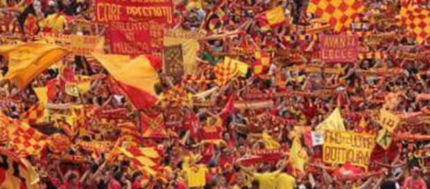 Il Lecce ha aumentato il numero di spettatori.
