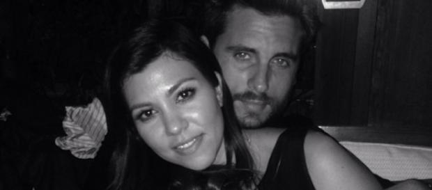 Kourtney Kardashian und Scott Disick.