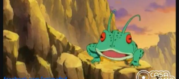 La rana Ginyu vuelve a aparecer en la serie