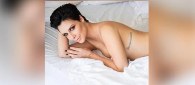 Nefertari posa para revista Playboy