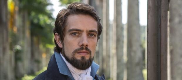 Rafael Cardoso é Felipe em 'Além do Tempo'