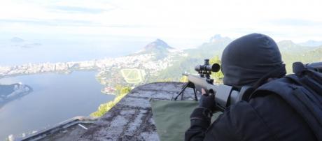 Treinamento da PM no RJ(Foto:Rogério Santana/GERJ)