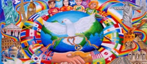"""""""As Crianças sabem da Paz"""" (http://bit.ly/1X1rwYH)"""