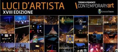 Locandina Luci Artista Torino 2015