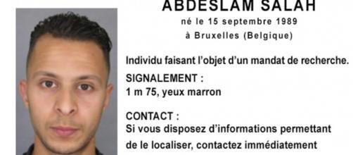 Salah Abdeslam, ricercato per la strage di Parigi