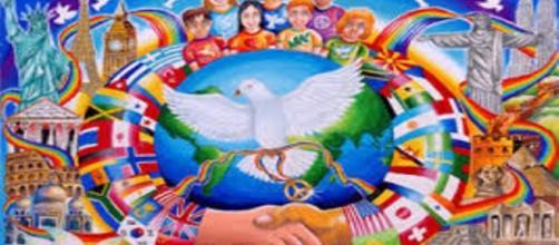 """""""As Crianças sabem da Paz"""" (Foto: Trisha Co Reyes)"""