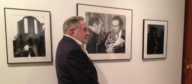 Buñuel, retratado por Antonio Gálvez, en Huelva