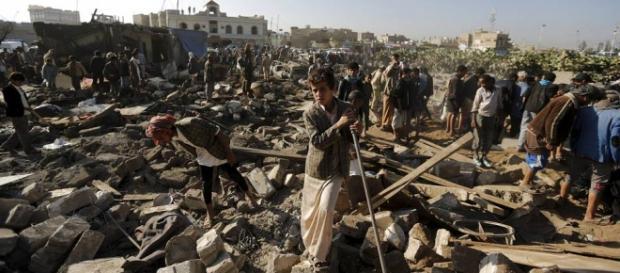 Crisi umanitaria e guerra in Yemen