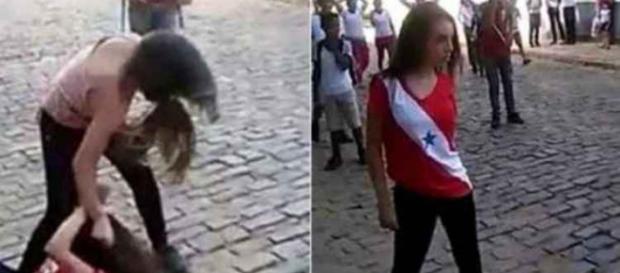 Meninas brigaram por causa de um garoto