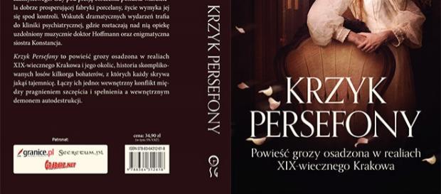 Okładka Krzyku Persefony Joanny Pypłacz
