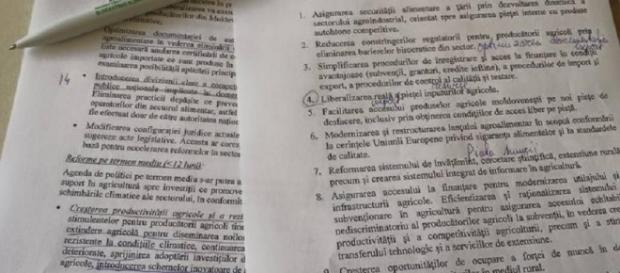Programul de guvernare al lui Cioloş