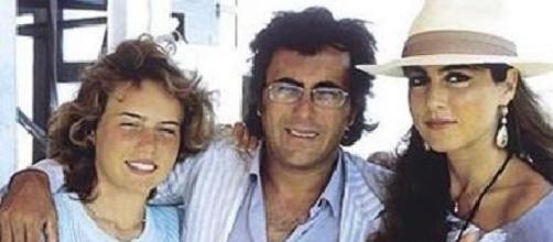 Da sinistra: Ylenia, Al Bano e Romina