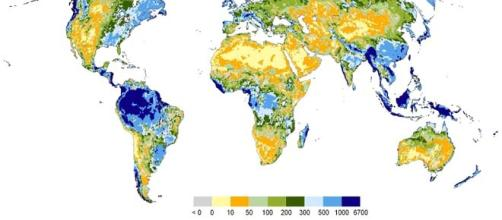 First map of world's ground water.