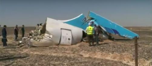Restos del Airbus ruso hallados en Egipto