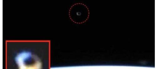 Ufo ripreso da telecamera Nasa vicino SSI