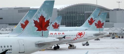 Vagas no Canadá. Foto: Divulgação Air Canada.