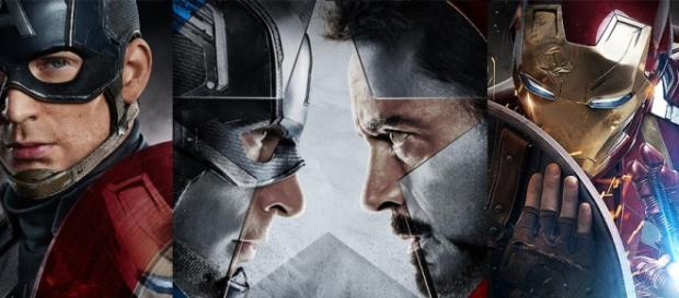 Captain America and Iron Man in Civil War