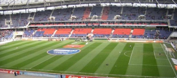 Estádio de futebol da cidade de Hannover