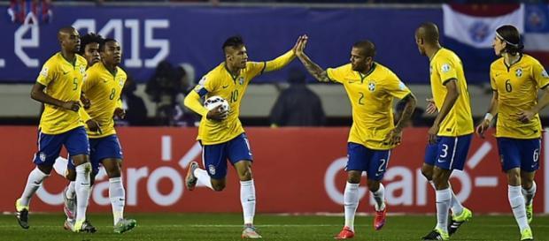 Neymar comanda o Brasil contra o Peru