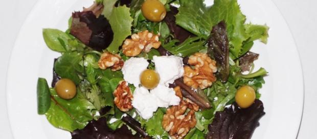 Receta de ensalada mixta para la cena