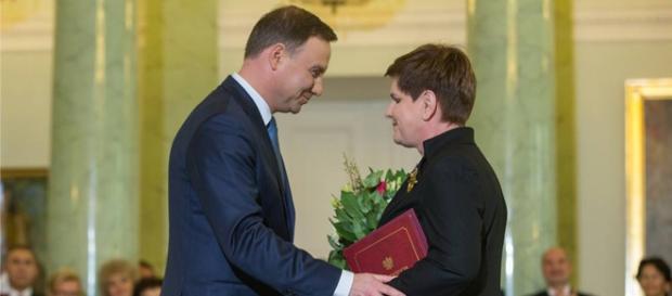 Wręczenie nominacji (fot. Facebook - Andrzej Duda)