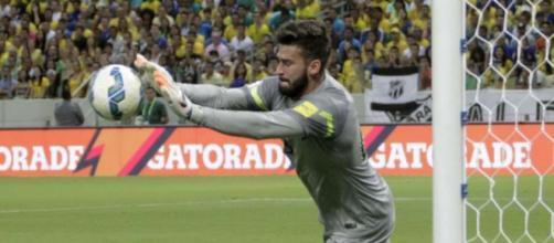 Alisson é o novo titular da Seleção Brasileira