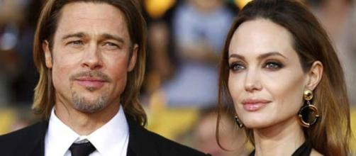 Angelina e Brad juntos no cinema!