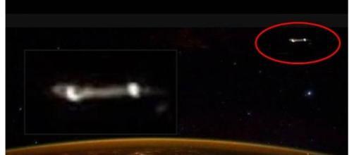 Astronauta Scott Kelly twitta foto con Ufo