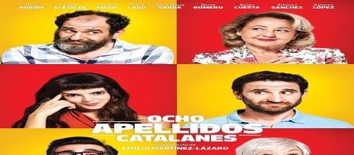 Cartel de 'Ocho apellidos catalanes'