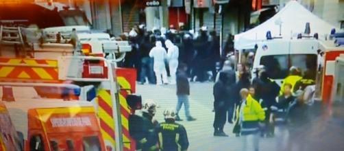 Cerco policial al barrio de Sant Denis en Paris