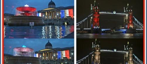 England welcomed their French allies to London