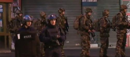 Imagem tirada do direto de France 24