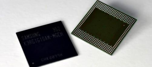 Immagine di un processore Samsung