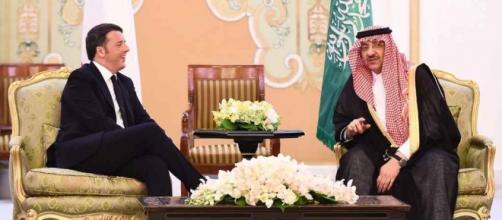 Incontro Riad premier Renzi con ministro bin Nayef