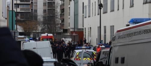 Operación policial en marcha en París