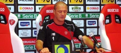 Pierpaolo Bisoli, allenatore del Perugia