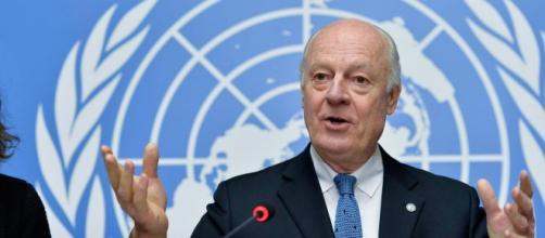 Staffan de Mistura, enviado de la ONU en Siria