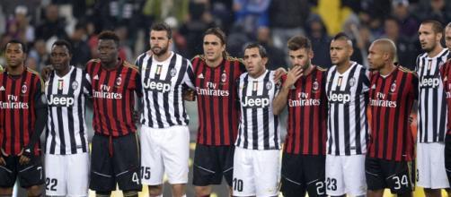 Un bel momento tra Juventus e Milan.