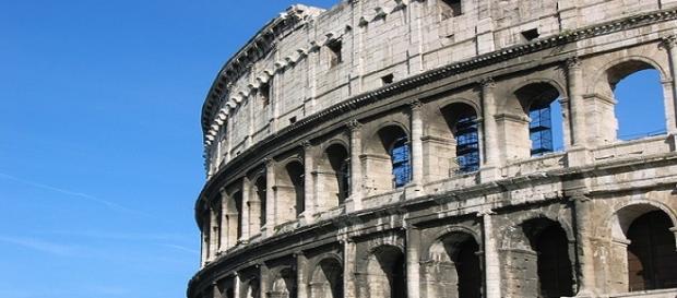Alex Fiore Vista vicina al Colosseo a Roma