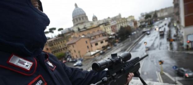 Allerta terrorismo a Roma - foto da infodifesa.it