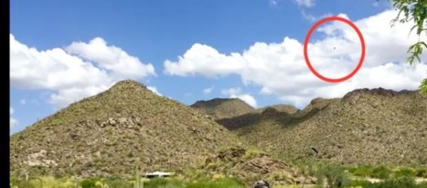 Avvistamento Ufo sopra campo da golf