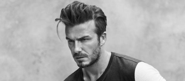 David Beckham durante l'anno 2015