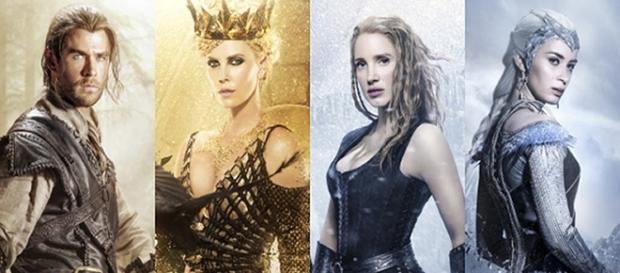 'El Cazador y la Reina de Hielo'