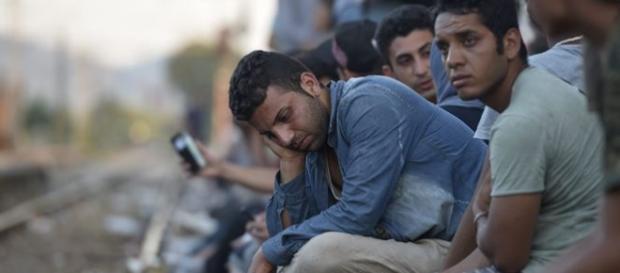 Refugiados querem fugir de Portugal.