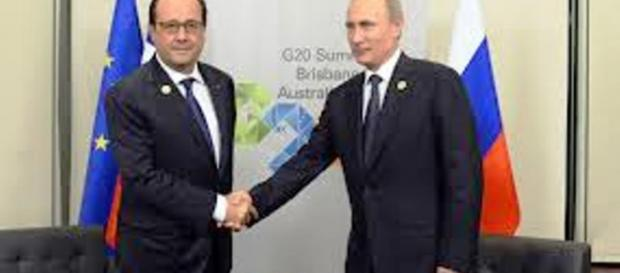 Sojusz Rosji i Francji w walce z IS